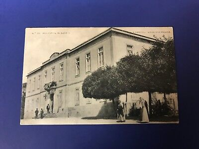 RPPC real photo postcard of a hospital in Portugal