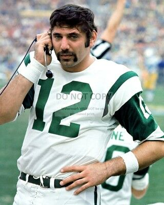 Joe Namath Legendary New York Jets Quarterback - 8X10 Sports Photo (Rt328)
