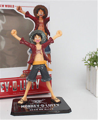 One Piece Monkey D. Luffy Anime Action Figure 3D Model PVC Toys Gifts Collection