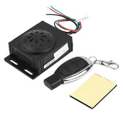 Motorcycle Anti-theft Security Alarm System w/ Remote Control 9-16V Universal LJ