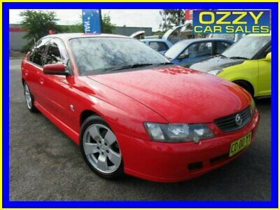 2003 Holden Commodore VY SV8 Red Automatic 4sp A Sedan
