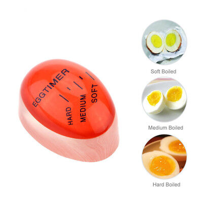 Practical Egg Perfect Color Changing Timer Soft Hard Boiled Egg Cooking Tool Hot