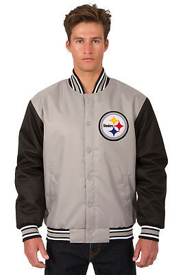 Pittsburgh Steelers NFL Mens Poly Cotton Twill Jacket