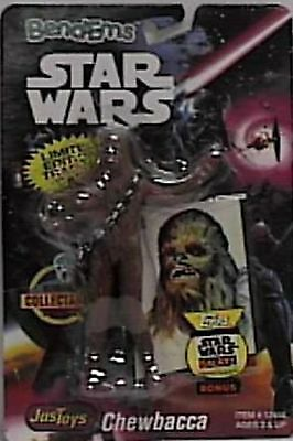 Star Wars Bend-Ems Chewbacca Figure with Limited Edition Trading Card