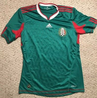 dbeefcecf70 Adidas Mexico Soccer Futbol 2010 World Cup Home Jersey Mens Size Medium