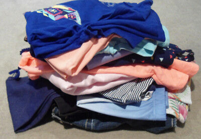 Girls Size 10 Bulk Lot Clothes Tops Dress Shorts Jeans Jumpers Target Patch Etc