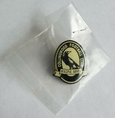 Collingwood Magpies Football Club AFL Magpie Army Member Badge Pin