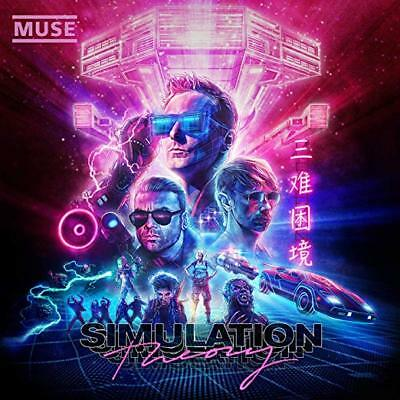 Muse Cd - Simulation Theory [Deluxe Edition](2018) - New Unopened - Warner Bros