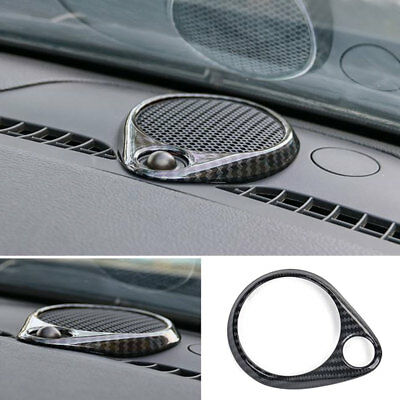 For Jeep Grand Cherokee 2014-2018 ABS Carbon Fiber Dashboard Speaker Cover Trim
