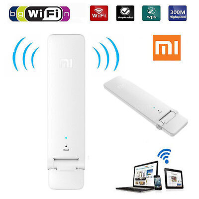 Xiaomi WiFi Amplifier 2 Wireless Wi-Fi Repeater 2 Network USB Router Extender AU