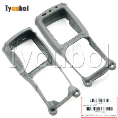 3pcs Grey Protective Rubber Boot ST6083 for Psion Teklogix Omnii XT15, 7545 XA