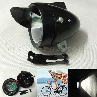 BlueSunshine Vintage Retro Bicycle Bike Front Light Lamp 7
