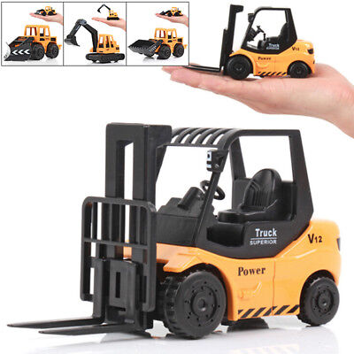 Forklift model toy Car Truck Vehicle Children Play Toy Miniature Best Seller