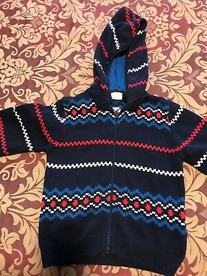 Baby Boys Multi Cardigan, Size 1.5-2Years