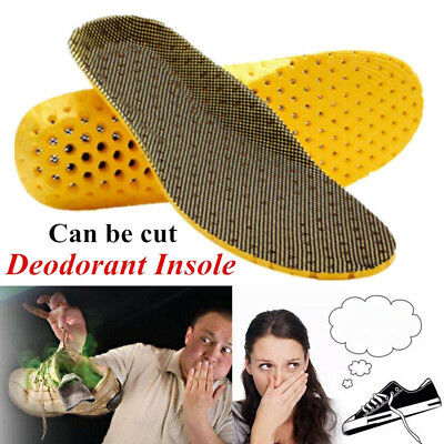 Sweat Deodorant Sports Cushioning  Insoles Thicken Shock Absorption  Breathable