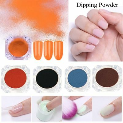 Natural Dry Manicure Decoration Dipping Powder Chrome Pigment  Nail Dip Dust