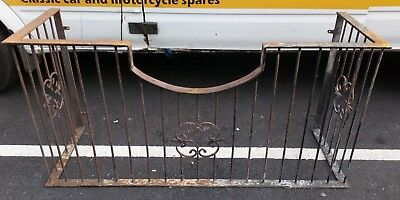 Large Antique? Fireguard Towel Rail. Not Sure Of Age