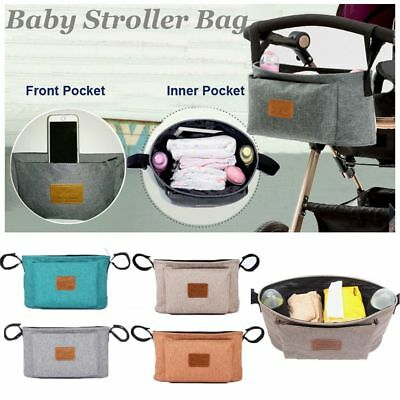 Baby Care Travel Waterproof Hanging Bag Pram Organizer Baby Stroller Bag Infant