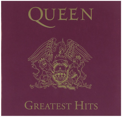 Queen - Greatest Hits (CD) • NEW • We Will Rock You Freddie Mercury, Best of