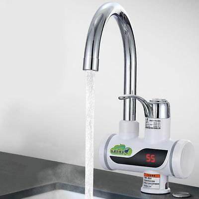 New Instant Hot Water Tap Fast Heating Electric Dispenser Sinks Bathroom Kitchen