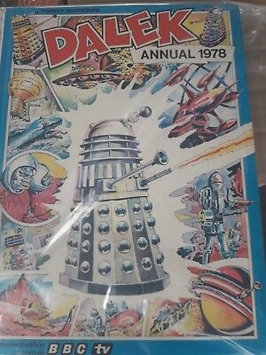 Vintage Doctor Who  annual