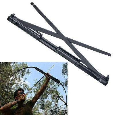 Black 40/60lbs Folding Recurve Takedown Bow Alloy Riser Archery Hunting Shooting