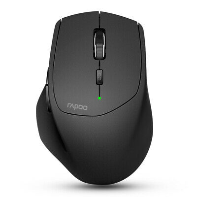 Rapoo MT550 Multi-mode Wireless 2.4G Bluetooth 3.0/4.0 Mouse 1600dpi Smart Switc