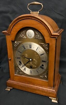 Large Elliott London Variable Chiming London Mantel Bracket Clock NIGHT SHUT OFF