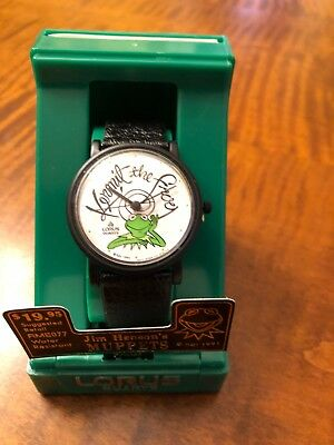 Vintage 1991 Kermit the Frog Watch | BY LORUS | Quartz Movemnt - New in Box
