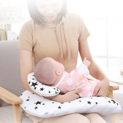 2pcs Baby Nursing Pillow Maternity U-Shape Cotton Breastfeeding Feeding Cushion