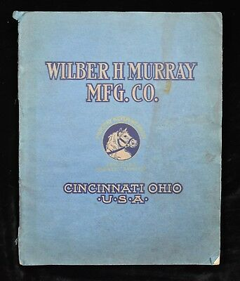 1906 Wilber Murray Horse & Buggy Vehicles Harness & Saddles Illustrated Catalog