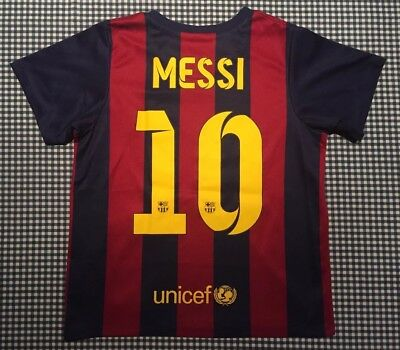 competitive price 8081a 3c758 LIONEL MESSI FC Barcelona Nike Toddler Youth Soccer Football Jersey Size XL  FCB
