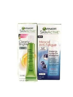 Garnier Miracle Anti-Fatigue Wake-Up Hydra-Gel Moisturizer + Dark Spot Corrector