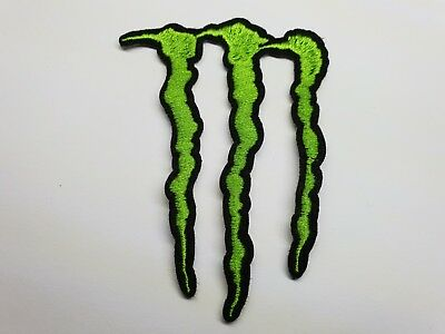 Quality Iron/Sew on Monster Energy Patch 666 drink logo