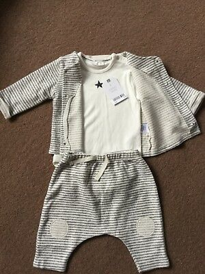 Next Baby Boy Brand New With Tags 3 Piece Set Outfit 3-6 Months