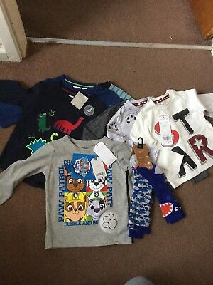 Next Baby Boy Brand New With Tags Christmas Clothes Bundle 0-3 Months