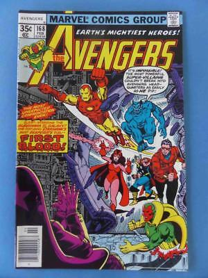 Avengers 168 1978 Perez/marcos Guardians Of The Galaxy Nm
