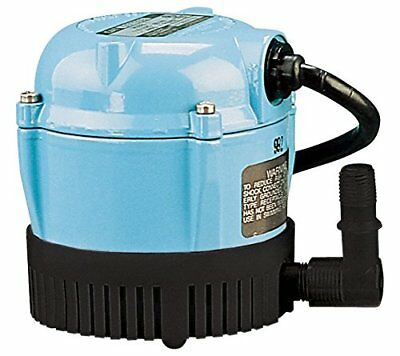 Little Giant 500203 Lubricated Pump, Permanently Oiled Direct Drive Pump, 1-A