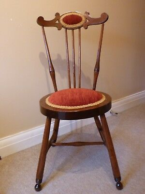 An Antique Hall or Bedroom Chair