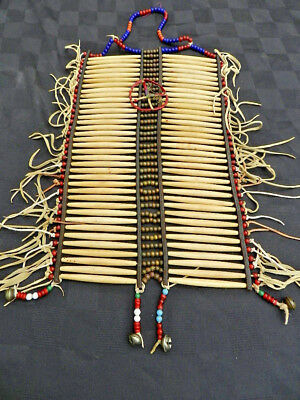 Early Antique Sioux Breast Plate, From A Los Angeles estate.