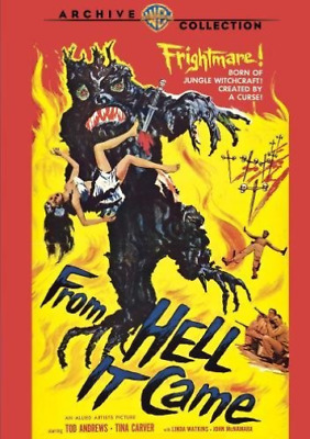 FROM HELL IT CAME / (WS B&W...-From Hell it Came (US IMPORT) DVD NEW