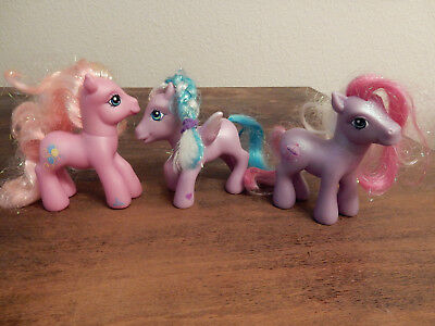 My little Pony, 3 Figuren aus der Serie