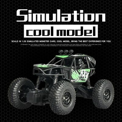 1:18 2WD Off-Road RC Car 24G RC Crawler Radio Controlled Car Toy for Kid X-Power