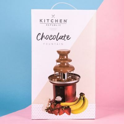 Chocolate Fountain 3 Tiers Ideal For Parties