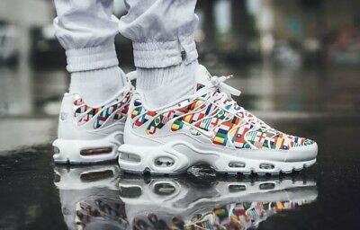 ba380ffa550454 AUTHENTIC NIKE AIR Max Plus NIC QS Tuned White Red World Cup ...