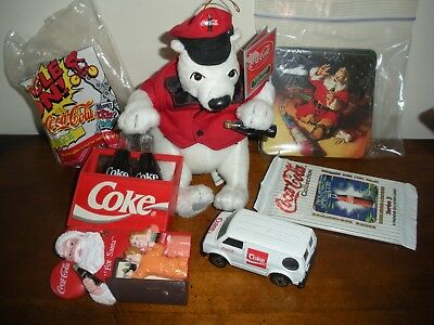Misc Lot Of Coca Cola Coke Collectible Items  Free Shipping