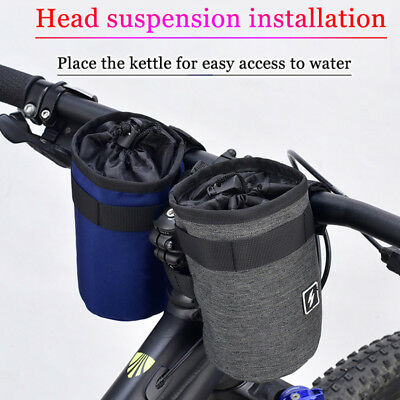 2 pcs Bicycle Water Bottle Holder Bag Portable Cycle Bike Kettle Insulate Cage
