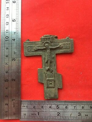 Ancient find cross  100% original   Metal detector finds №166