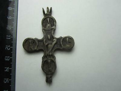 Engolpion   Medieval finds №172  Metal detector finds  100% original
