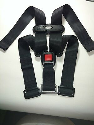 Evenflo Litemax 35 Infant Baby Car Seat Belt Strap Harness Buckel Chest clips.